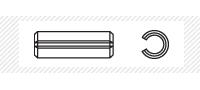 Штифт пружинный (DIN 1481)