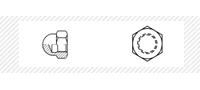Гайка колпачковая (DIN 1587)