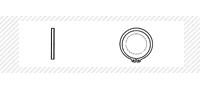Кольцо стопорное внешнее (DIN 471)