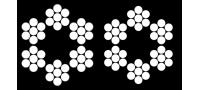 ТРОС СТАЛЬНОЙ; В ПВХ ОПЛЕТКЕ  (DIN 3055)