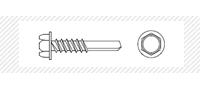 Винт самосверлящий с шестигранной головой (DIN 7504 K)