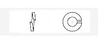 Шайба пружинная (Гровер) (DIN 7980)