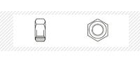 Гайка шестигранная (DIN 934)