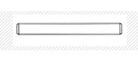 Стержень метрический класс прочности 4.8 (DIN 975)