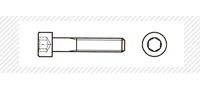 Винт метрический с цилиндрической головой (DIN 912)