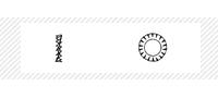 Шайба стопорная (DIN 6798A; 6798V)