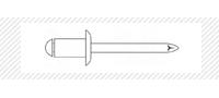 Заклепка AL/ST (DIN 7337)