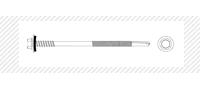 Винт самосверлящий c шестигранной головой (DIN 7504 K)