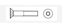 Винт метрический с потайной головой (DIN 7991)